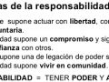 ¿Cuáles son las características de la responsabilidad?