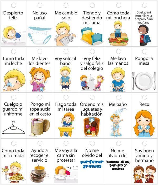 ¿Cuáles son las responsabilidades de los niños?